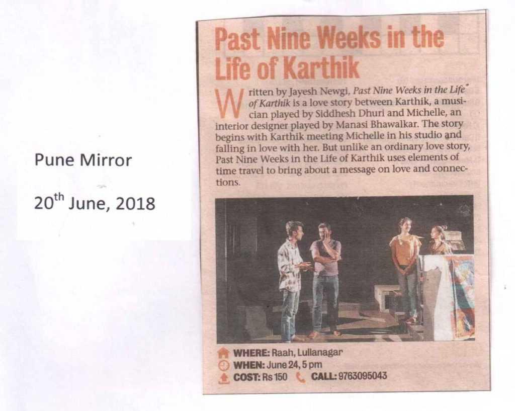 Past-Nine-Weeks-in-the-Life-of-Karthik
