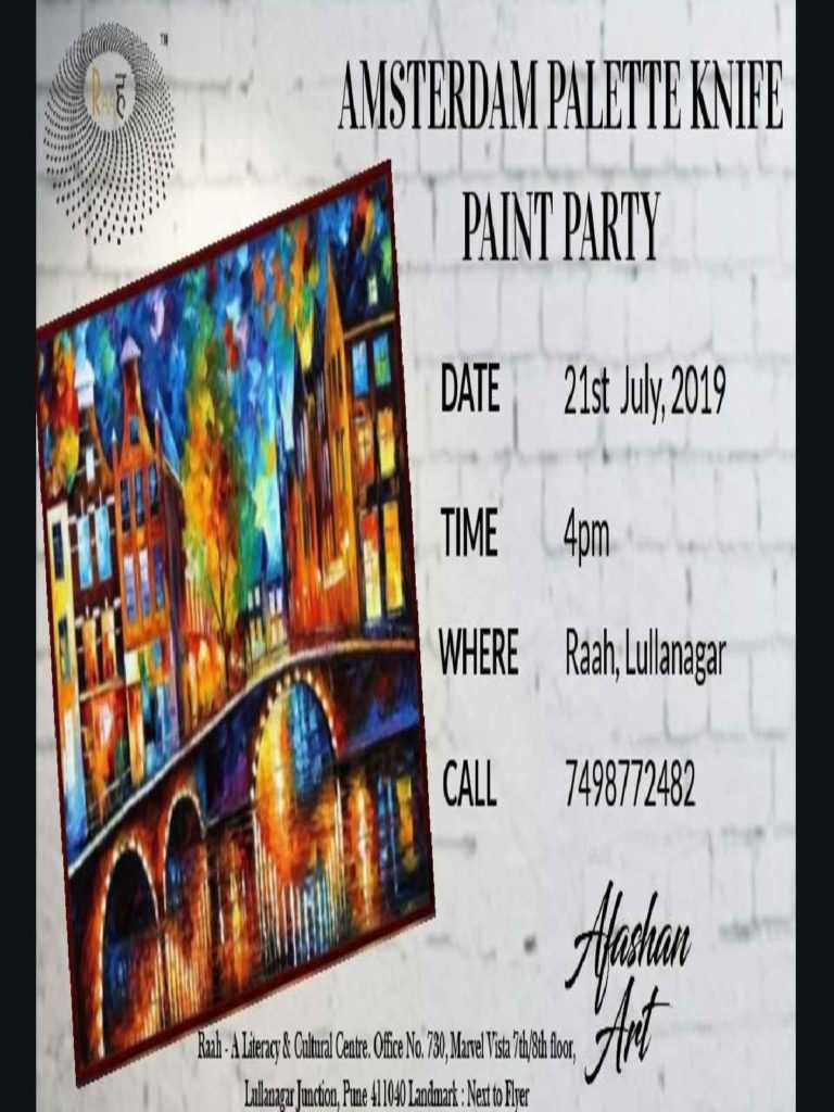 Amsterdam-Paint-Party