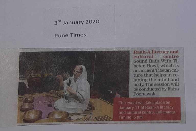 Sound Bath with Tibetan Bowls